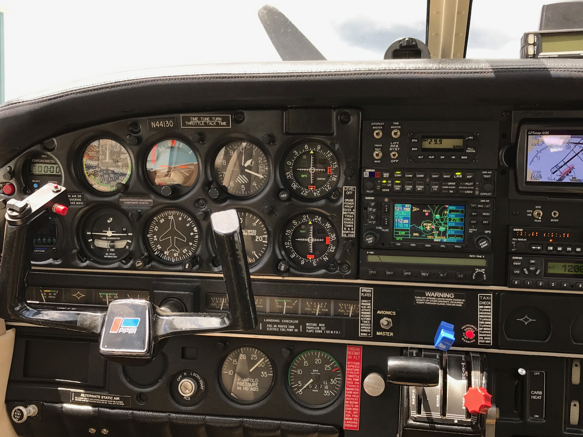1974 Cherokee 6 260 for sale pnl2 - Pristine Airplanes